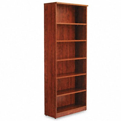 Alera® Valencia Series Six-Shelve Bookcase and Storage Cabinet