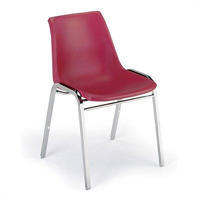 KI 1060 Stack Chair with Black Frame