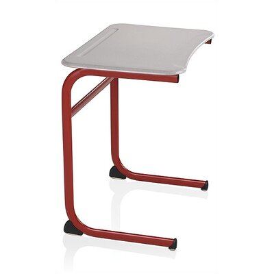 "KI Furniture Intellect Wave 29"" Plastic Desk"