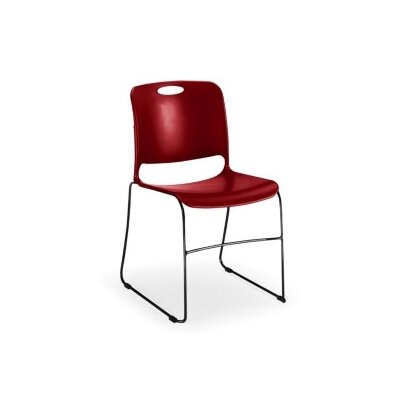 KI Maestro Stack Chair with Black Frame