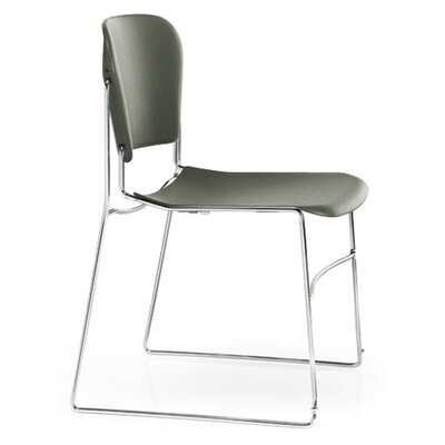 KI Perry Stack Chair with Chrome Frame