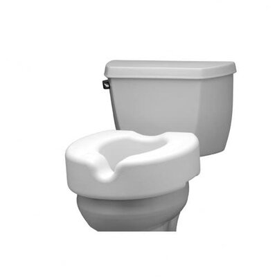 Non-Locking Raised Toilet Seat