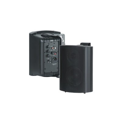 AmpliVox Sound Systems Wireless Powered Dual Speaker