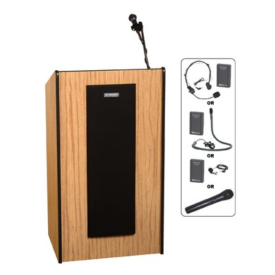 AmpliVox Sound Systems Presidential Plus Lectern