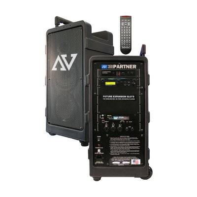 AmpliVox Sound Systems Digital Audio Travel Partner with Remote Control