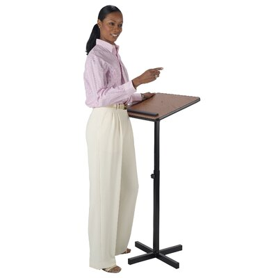 AmpliVox Sound Systems Xpediter Adjustable Lectern Stand without Sound