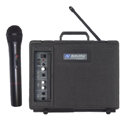 AmpliVox Sound Systems Wireless Handheld Audio Portable Buddy