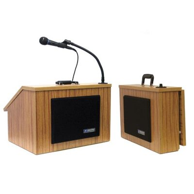 AmpliVox Sound Systems EZ Folding Lectern with Carrying Case