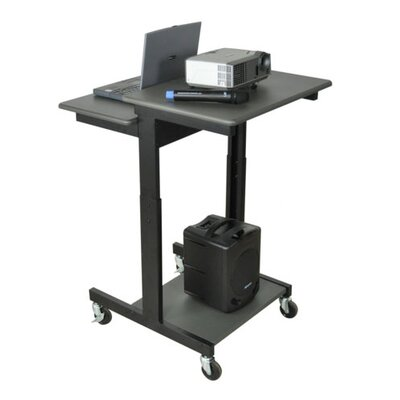 AmpliVox Sound Systems Mobile Single Person Compter Desk