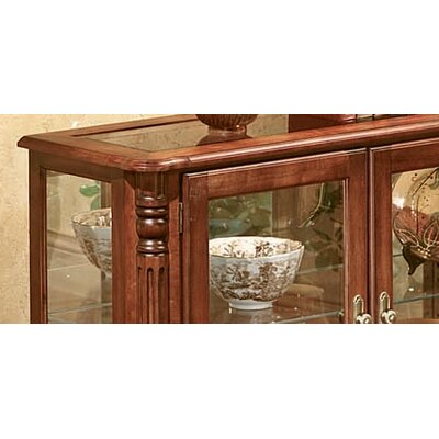 Peters-Revington Bordeaux Console Table and Curio