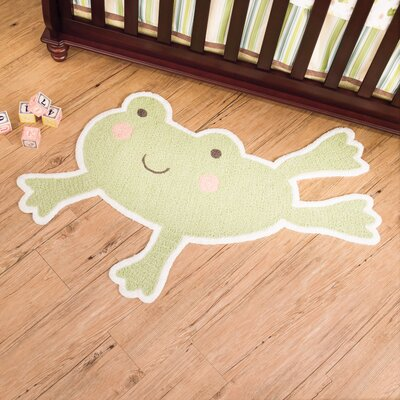 Carter's® In the Pond Frog Kids Rug