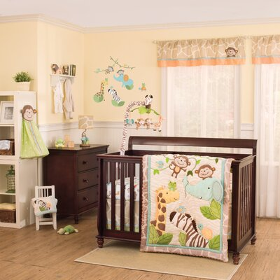 Carter's Jungle Play Crib Bedding Collection