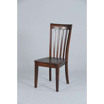 Contemporary Slat Back Side Chair
