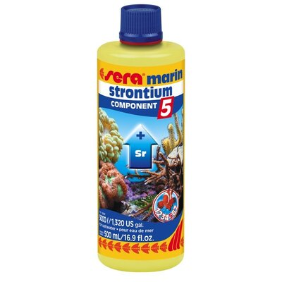 Sera USA Marine Component 5 Strontium Saltwater Conditioning and Maintenance