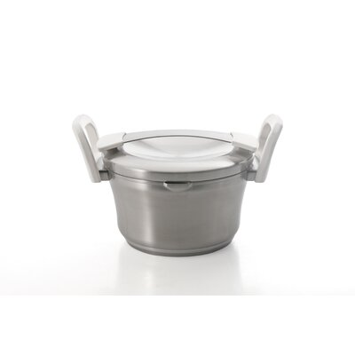 BergHOFF International Auriga Stainless Steel Round Casserole with Lid