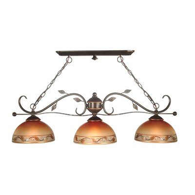 Dale Tiffany Garden Kitchen Island Pendant in Antique Golden Sand