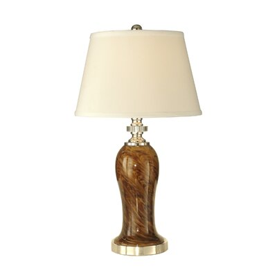 Dale Tiffany 1 Light Table Lamp with Shade