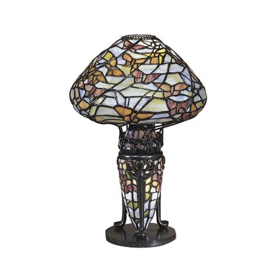 Dale Tiffany Papillion 1 Light Table Lamp