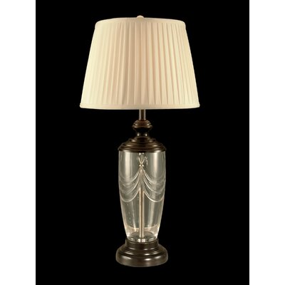 Dale Tiffany Lillie Crystal 1 Light Table Lamp