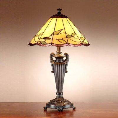 Dale Tiffany Lifestyles Falhouse  Table Lamp in Antique Bronze with Gold