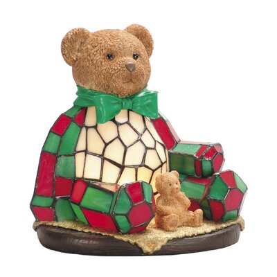 Noel Bear One Light Night Table Lamp