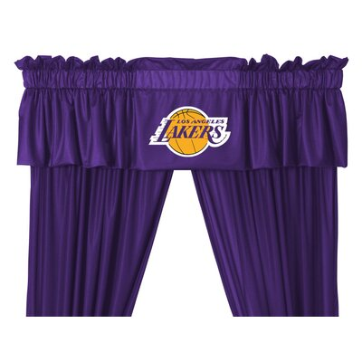 Sports Coverage Inc. NBA Rod Pocket Valance