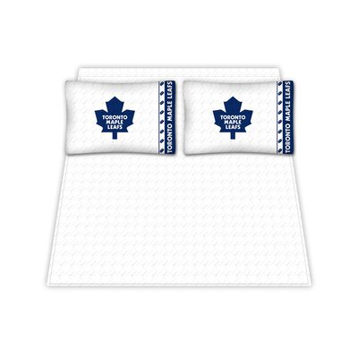 Sports Coverage Inc. Toronto Maple Leafs Micro Fiber Sheet Set