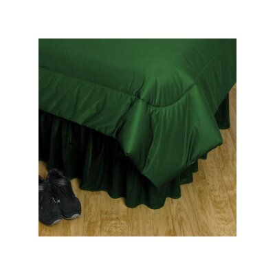 Sports Coverage Inc. NCAA Polyester Jersey Bedskirt
