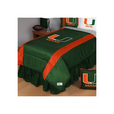 Sports Coverage Inc. NCAA Sidelines Comforter