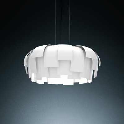 FontanaArte Wig 3 Light Foyer Pendant
