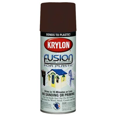 Krylon 12 Oz Espresso Fusion Spray Paint