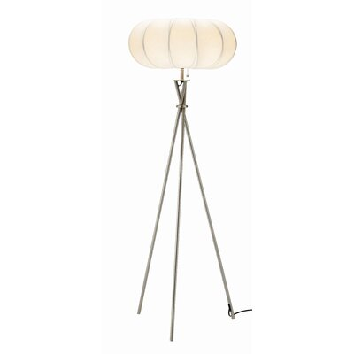 Adesso Cloud 1 Light Floor Lamp