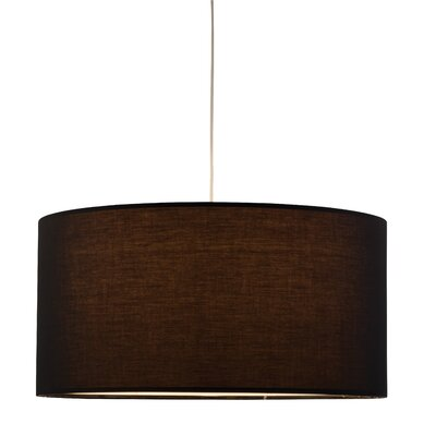 Adesso Timpani 1 Light Drum Pendant