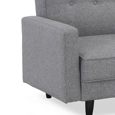 LifeStyle Solutions Serta Dream Convertibles Valerie Fabric Sofa