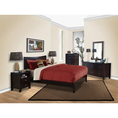 LifeStyle Solutions Canova Platform Bed