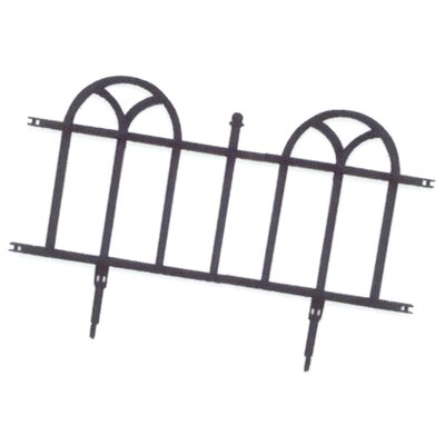 Easy Gardener Weedblock Forged Wrought Iron Decorative Border
