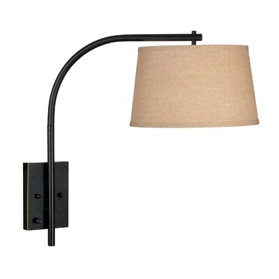 Kenroy Home Sweep  Swing Arm Wall Lamp in Oil Rubbed Bronze
