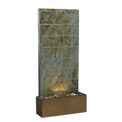Kenroy Home Resin Brook Indoor Tabletop Fountain