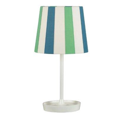Kenroy Home Raya Table Lamp with Striped Shade
