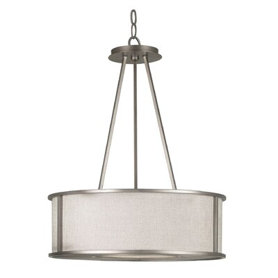 Kenroy Home Whistler 3 Light Drum Pendant