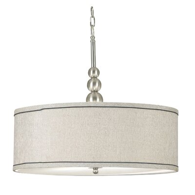 Kenroy Home Margot 3 Light Drum Pendant