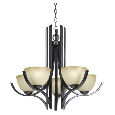 Cypress 5 Light Chandelier