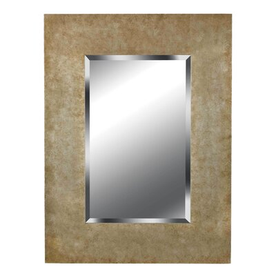 Sheen Wall Mirror in Golden Copper