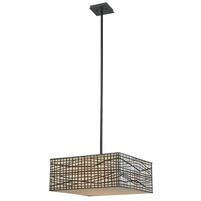 Kenroy Home Fortress 3 Light Pendant