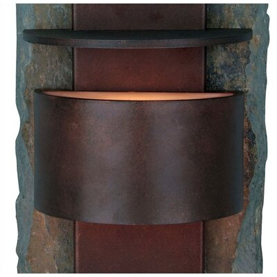 Kenroy Home Pembrooke  Small Outdoor Wall Lantern in Copper