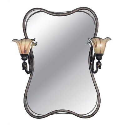 Kenroy Home Inverness 2 Light Vanity Mirror Light
