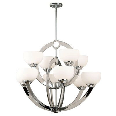 Kenroy Home Nova 10 Light Chandelier