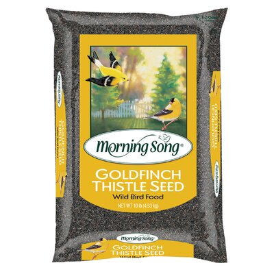 Scotts 10 lbs Morning Song Goldfinch Thistle Seed