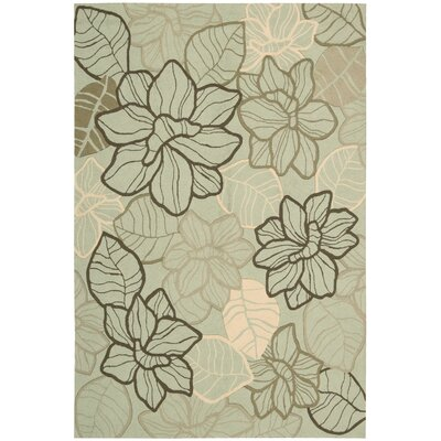 Nourison Fantasy Mint Rug
