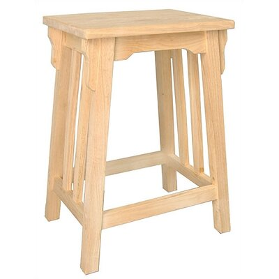 International Concepts Unfinished Mission Counter Stool